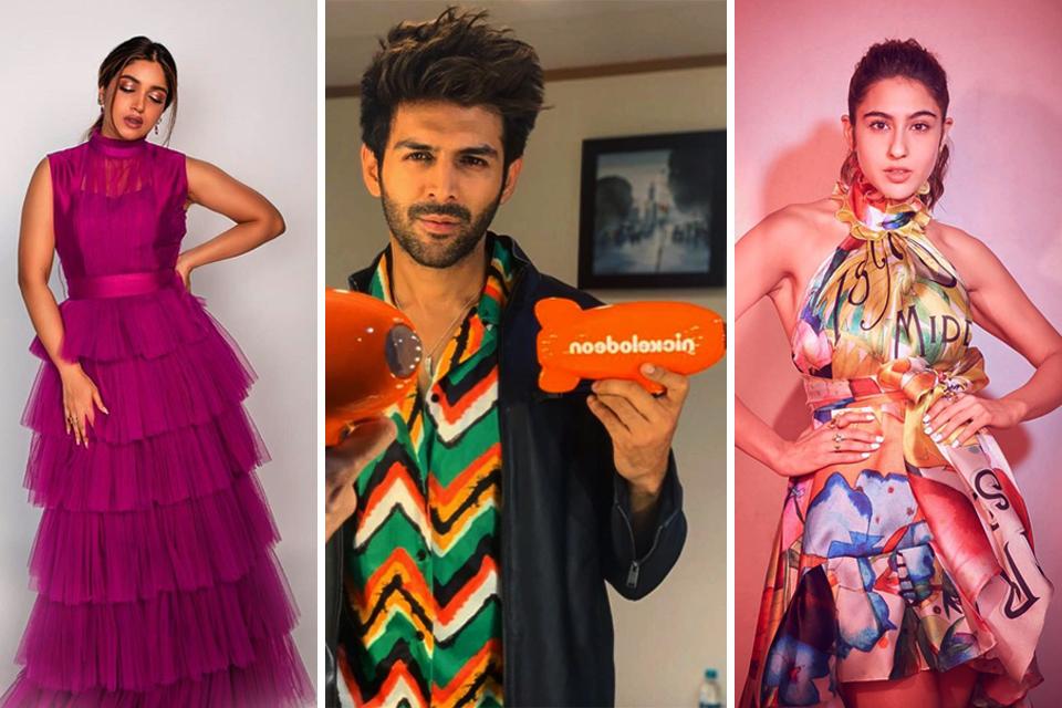 Dazzlerr - Bollywood Celebs at Nickleodeon Kids' Choice Awards 2019