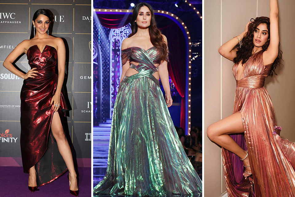 Dazzlerr - Metallic Outfits of These Bollywood Divas is Setting New Trend