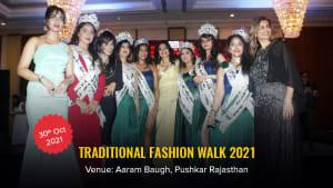 Dazzlerr :: Traditional Fashion Walk 2021