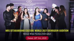 Dazzlerr :: Mrs UTTARAKHAND CULTURE WORLD 2021 Dehradun Audition