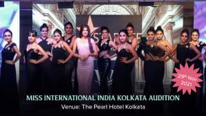 Dazzlerr :: Miss International India Kolkata Audition