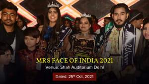 Dazzlerr :: Mrs Face of India 2021