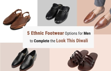 Dazzlerr - 5 Ethnic Footwear Options for Men to Complete the Look This Diwali