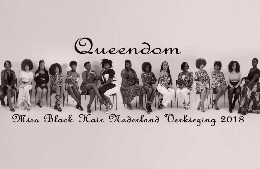 Miss Black Hair Nederland Verkiezing 2018