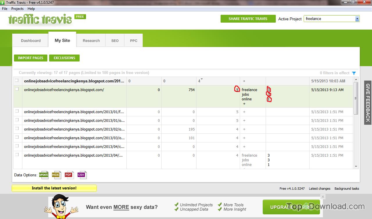 TrafficTravis screenshot