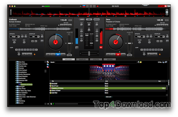 Virtual dj 7.4 pro + crack for mac