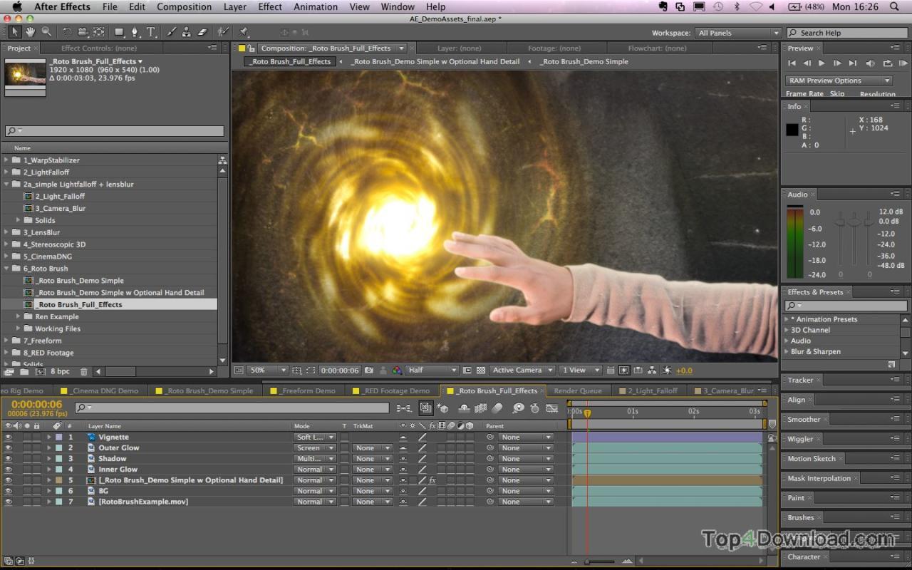 Adobe After Effects screenshot