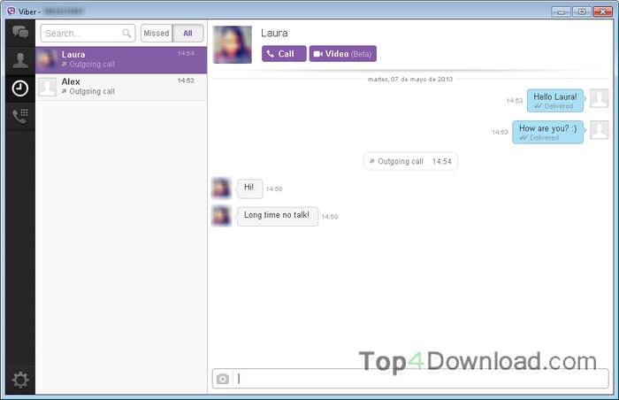 Viber screenshot