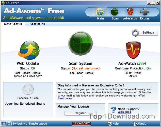 Ad-Aware Free screenshot