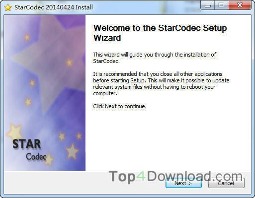 StarCodec screenshot