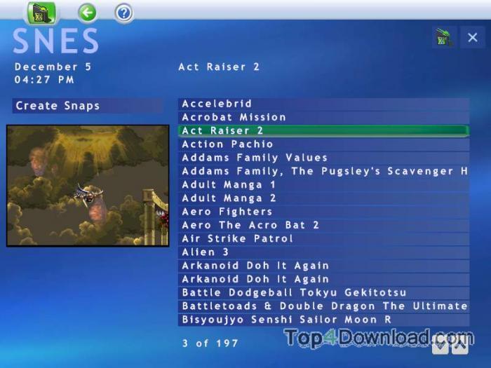 GameEx screenshot