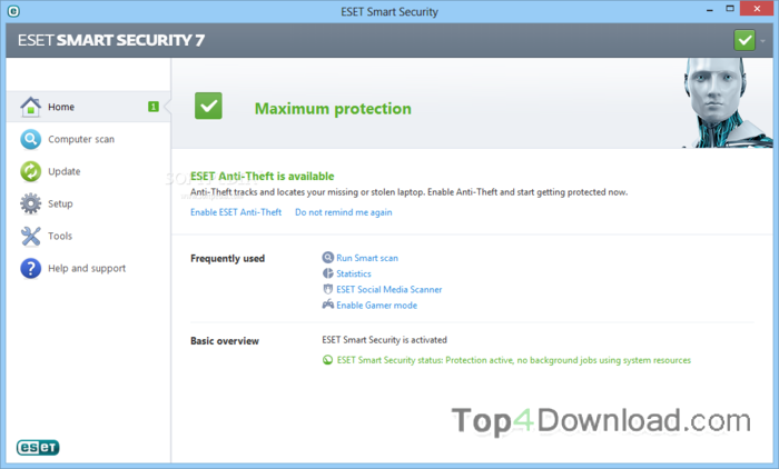 ESET Smart Security (64 bit) screenshot