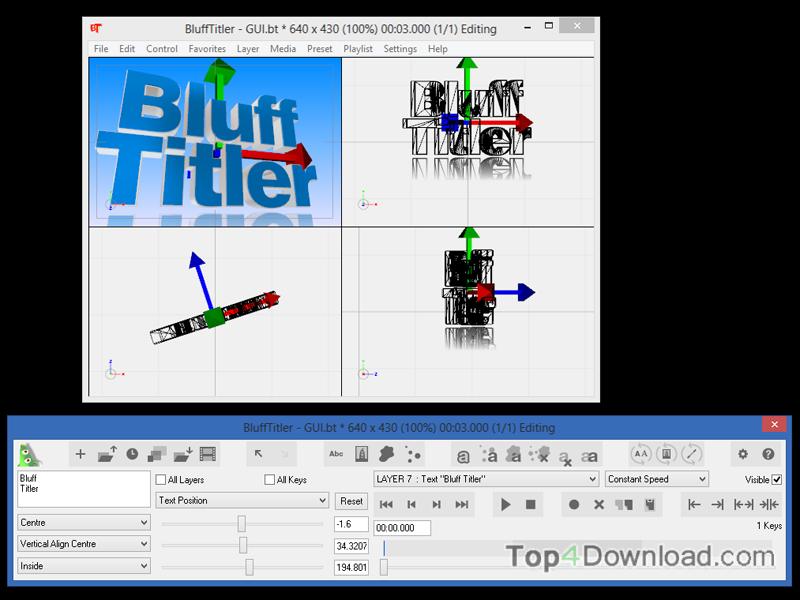 BluffTitler screenshot
