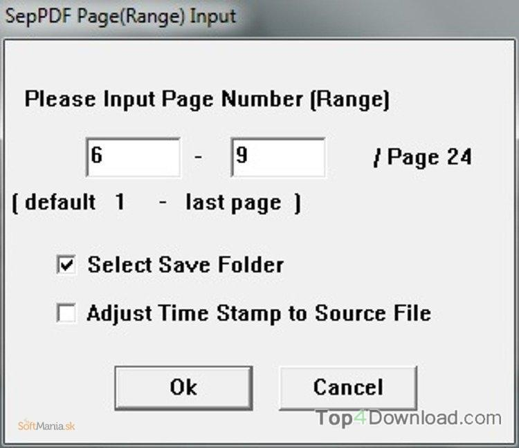 SepPDF screenshot