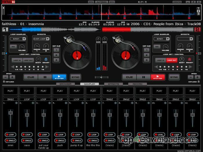 Virtual DJ Home for Mac screenshot