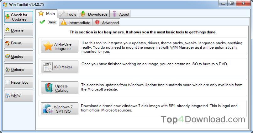 Win Toolkit screenshot