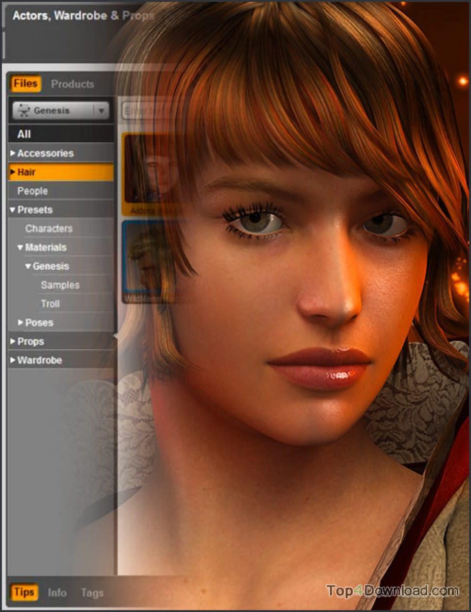 DAZ Studio for Mac OS X screenshot