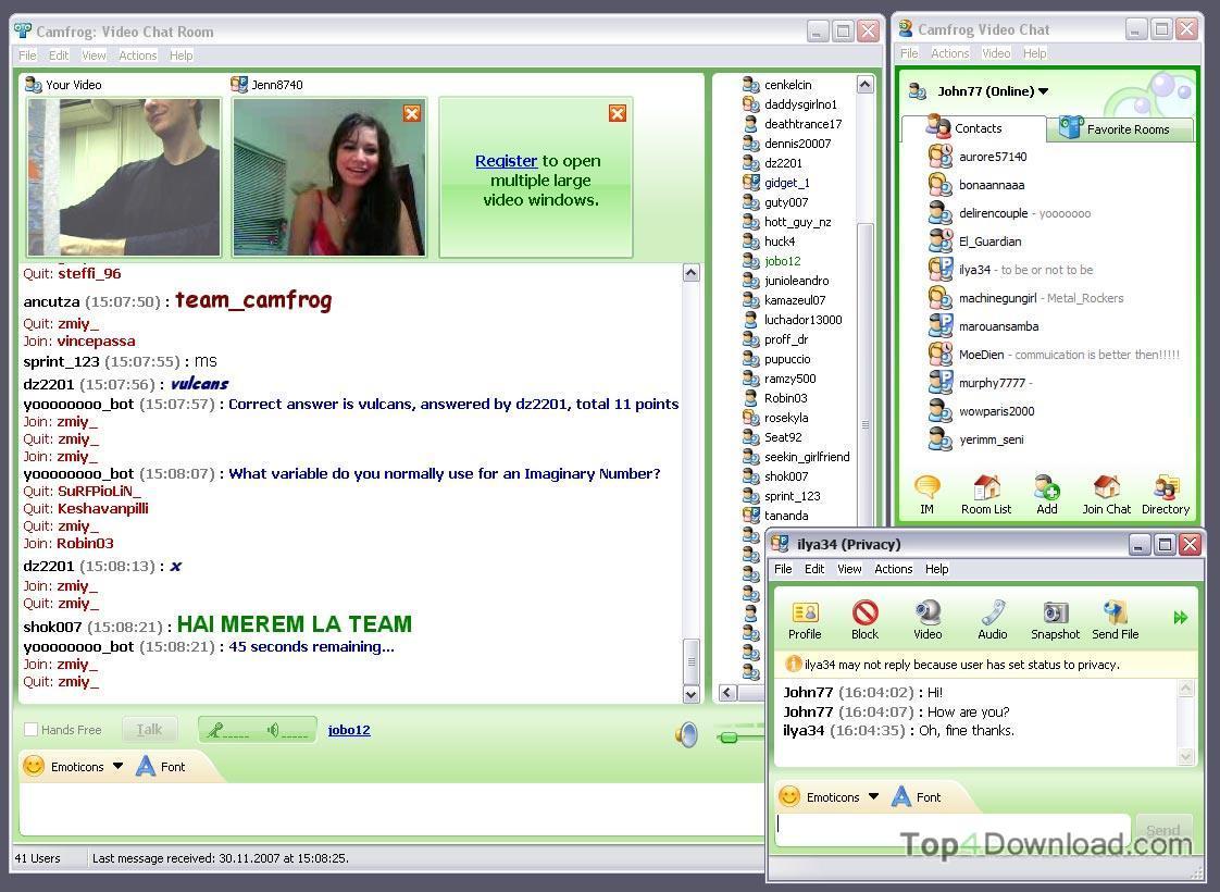 Camfrog Video Chat screenshot
