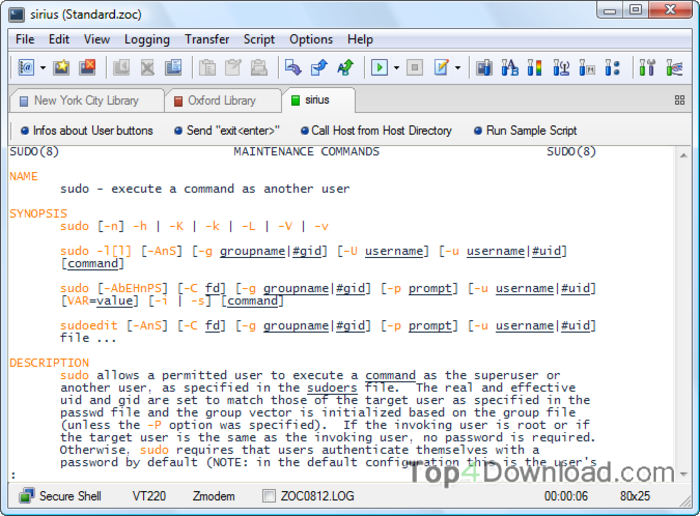 ZOC screenshot