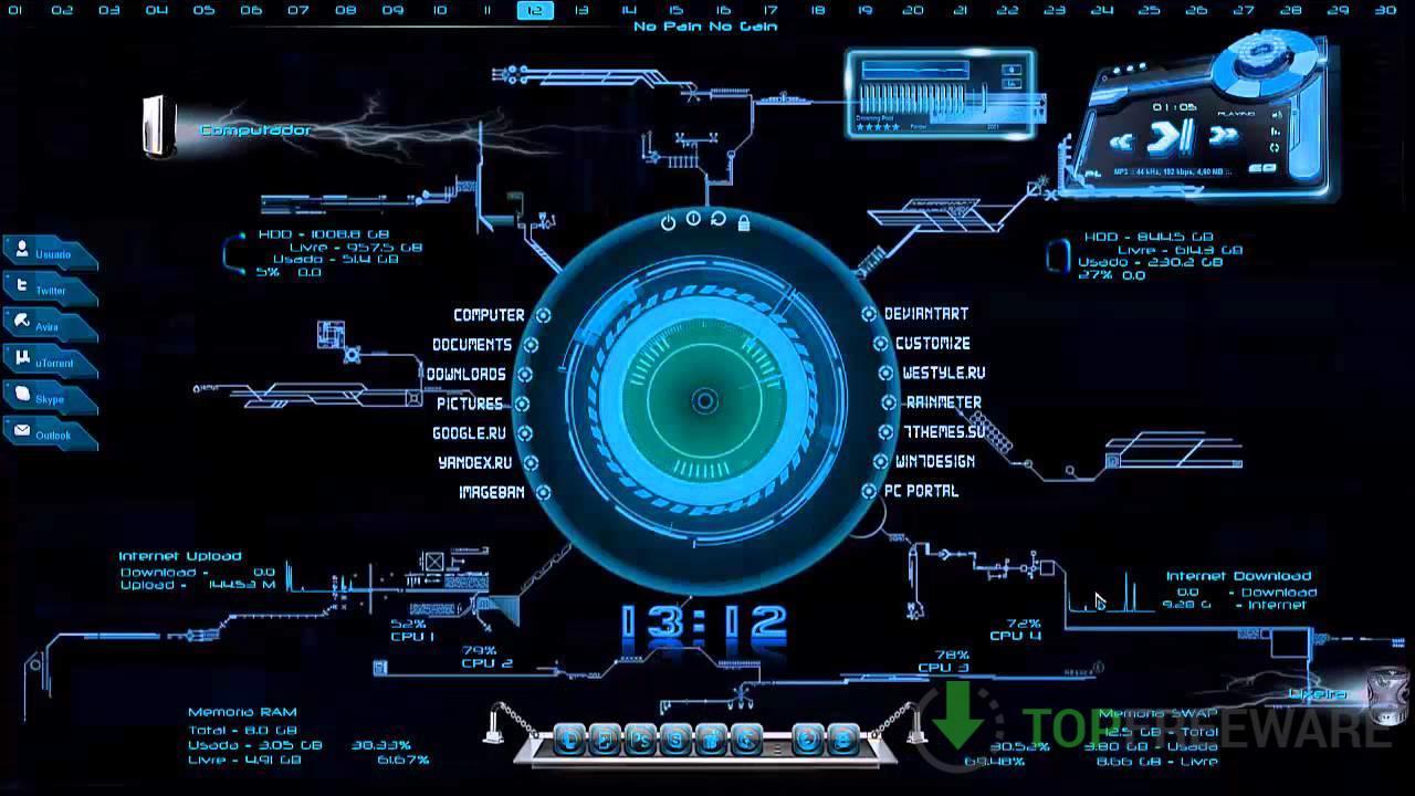 Rainmeter - Top Freeware