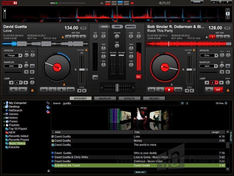 Virtual DJ Home - Windows 10 Download