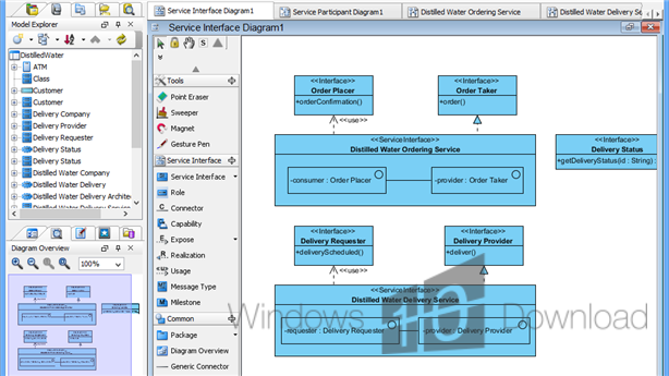 visual paradigm for uml standard edition screenshot - Visual Paradigm Viewer