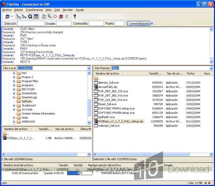 Filezilla client free download for windows 10