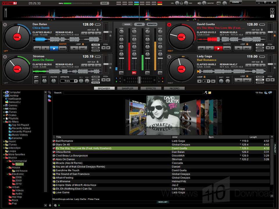 free virtual dj download apk