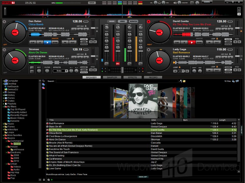 free  dj software full version