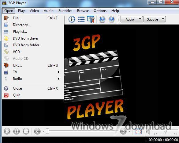 How to play 3GP files