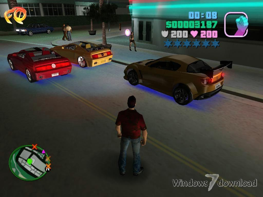 Grand Theft Auto: Vice City Ultimate Vice City Mod for Windows 7