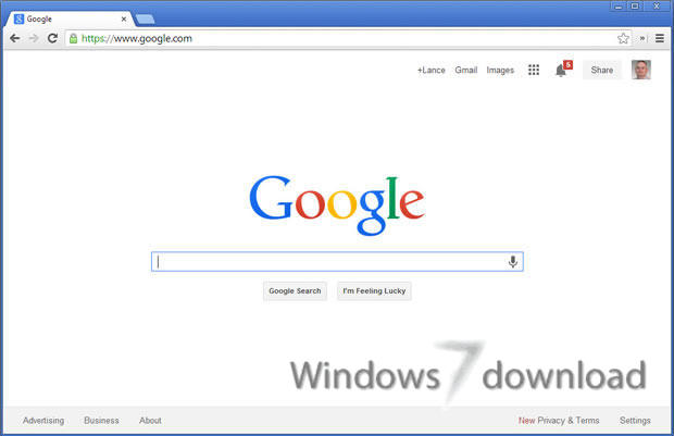 Google Chrome for Windows 7 - Browse the web, Chrome Fast