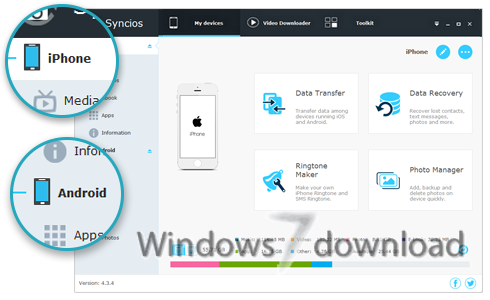 syncios data recovery 1.2.3 registration code