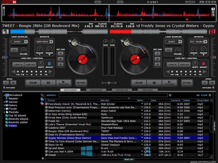 virtual dj free download windows 8