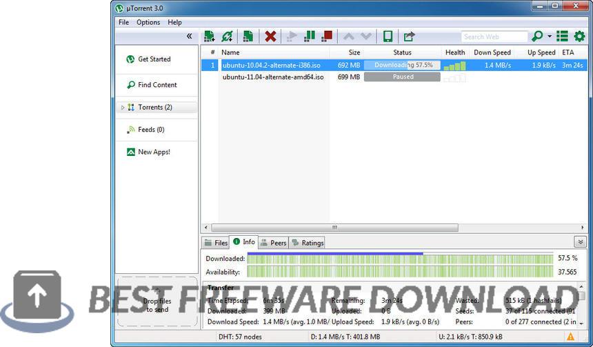 uTorrent (µTorrent) 3.5.5 B45988 full