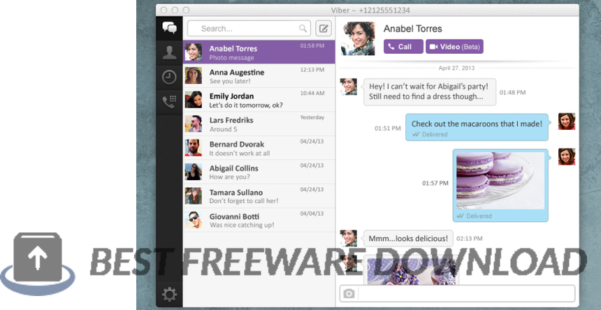 Viber for Mac 14.4.1 full