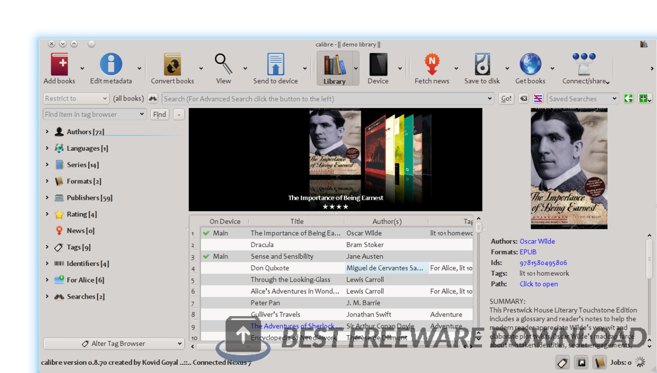 Calibre for Linux 5.17.0 full