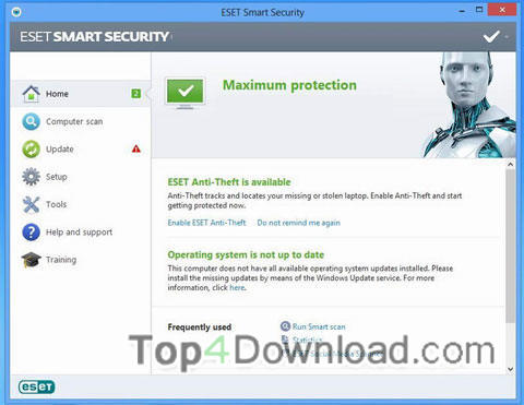 eset smart security 4 64bit username and password