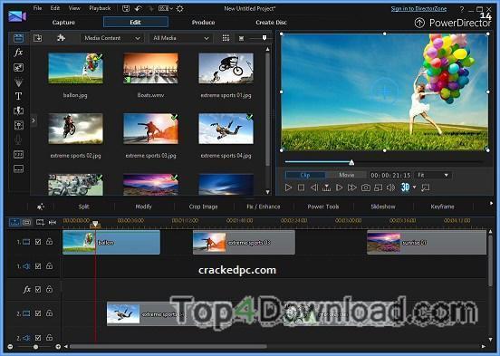 powerdirector slideshow templates download - powerdirector deluxe 14