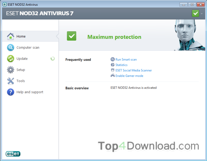 NOD32 Antivirus (64 bit) 11.1.54.0 full