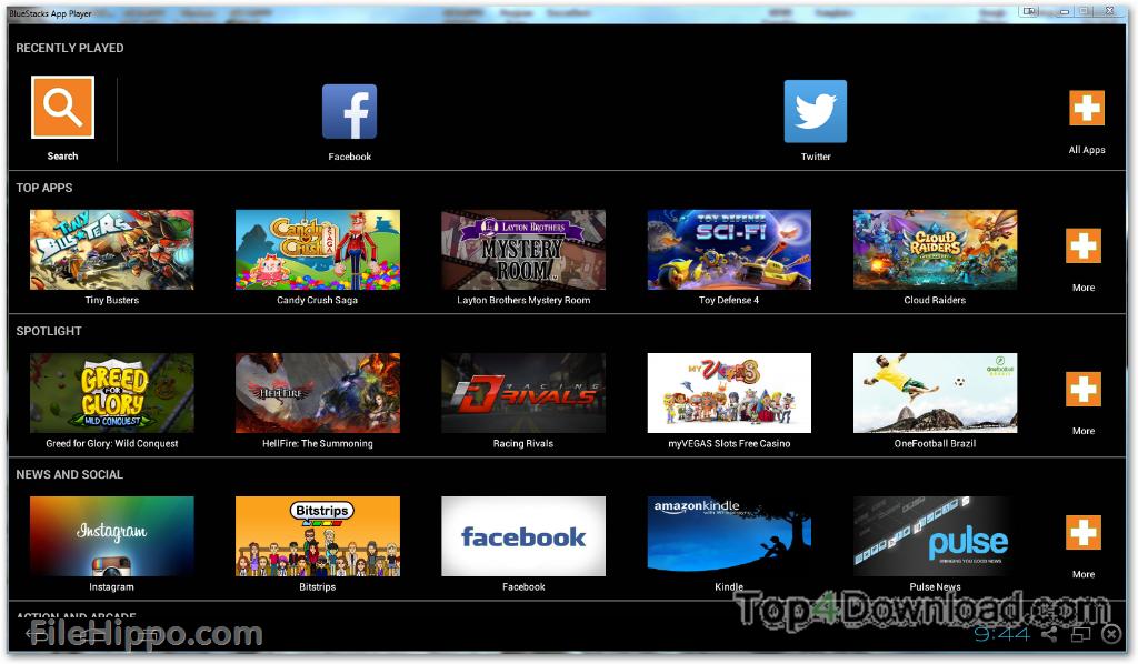 BlueStacks App Player 4.260.0.1032 full