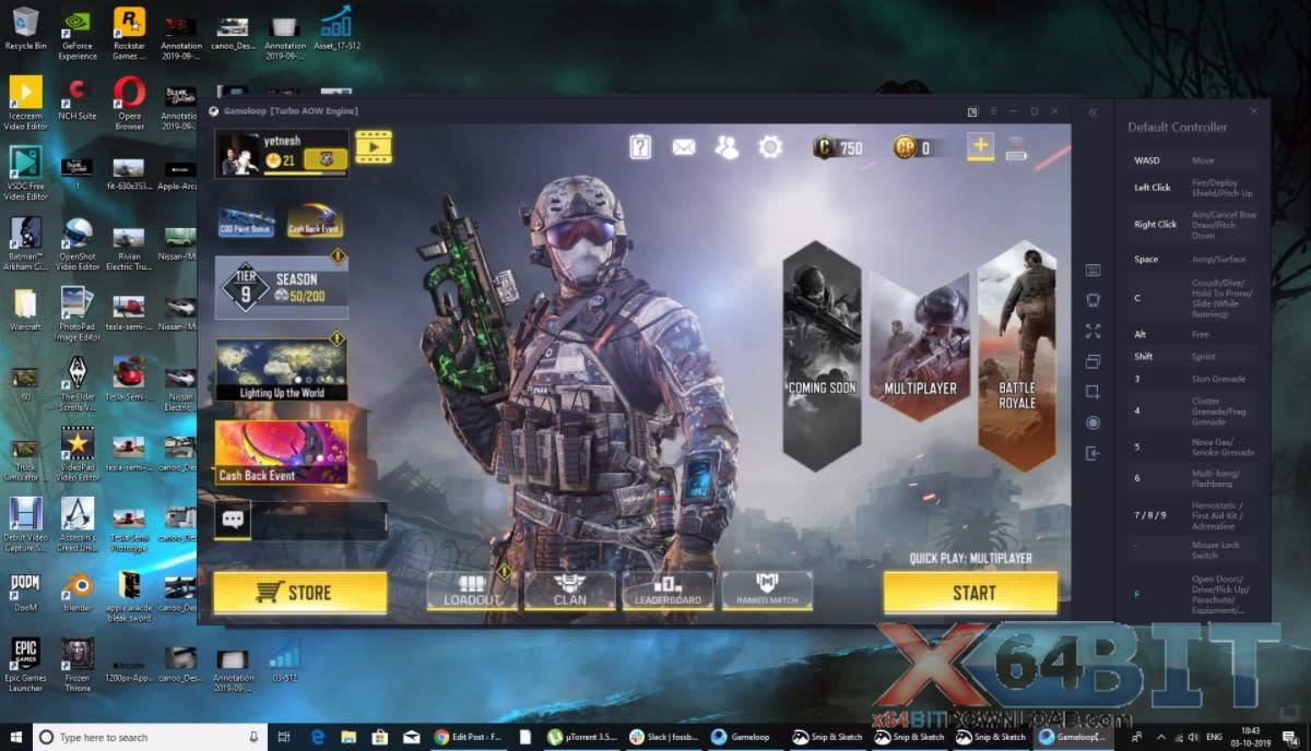 Call of Duty: Mobile for PC screenshot