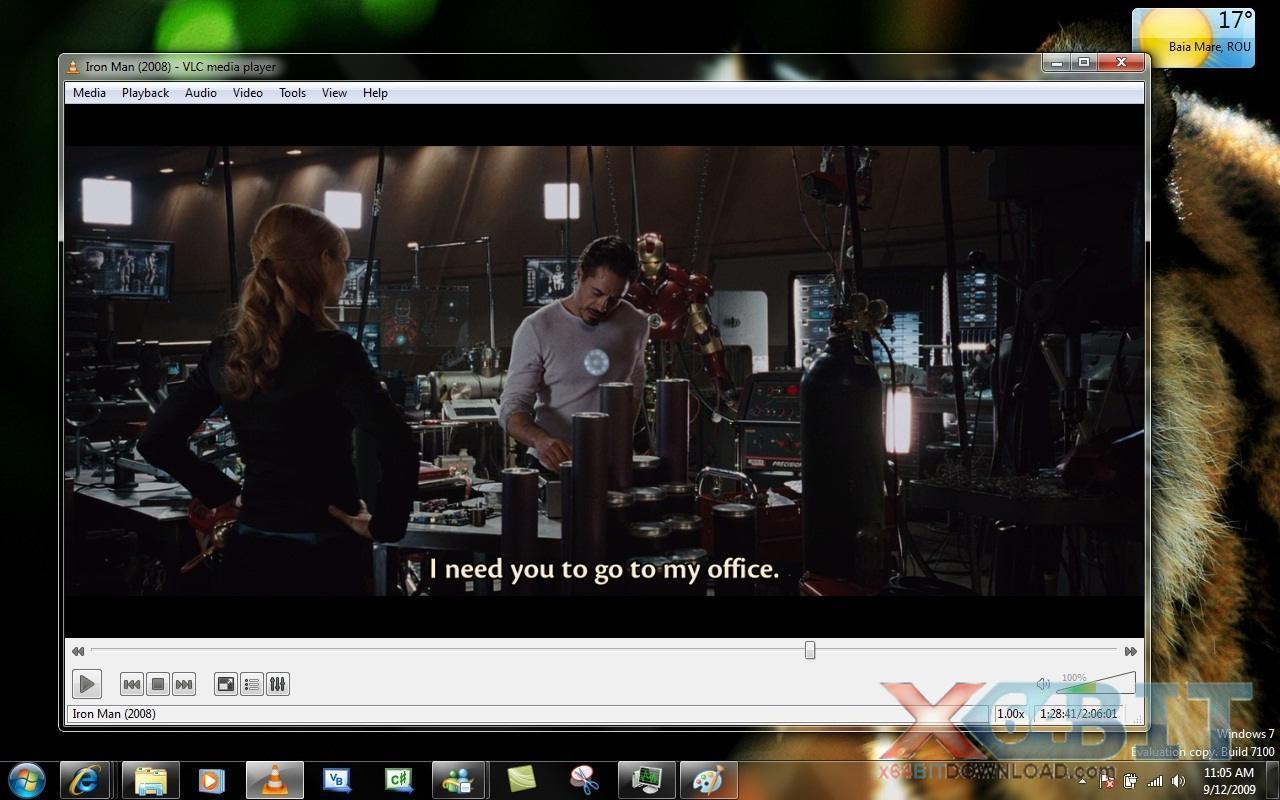 VLC Media Player x64 screenshot