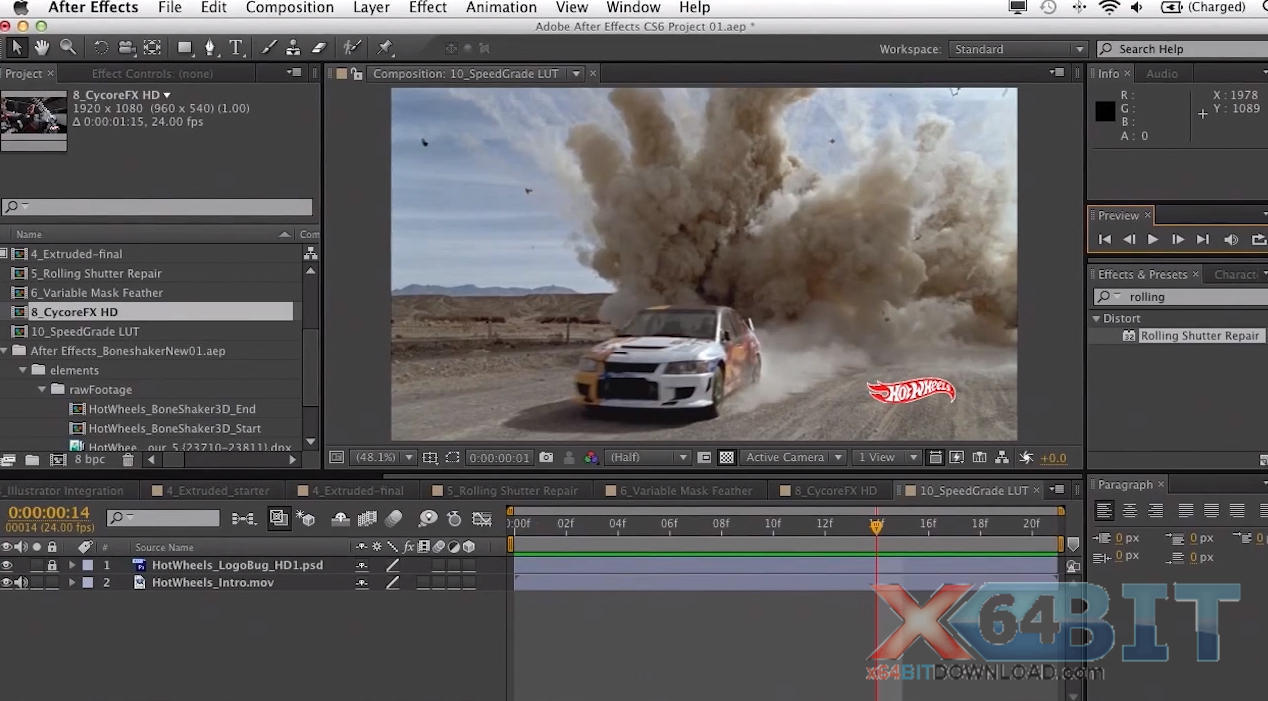 Adobe After Effects screenshot