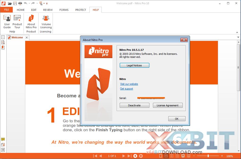 Nitro PDF Professional x64 screenshot