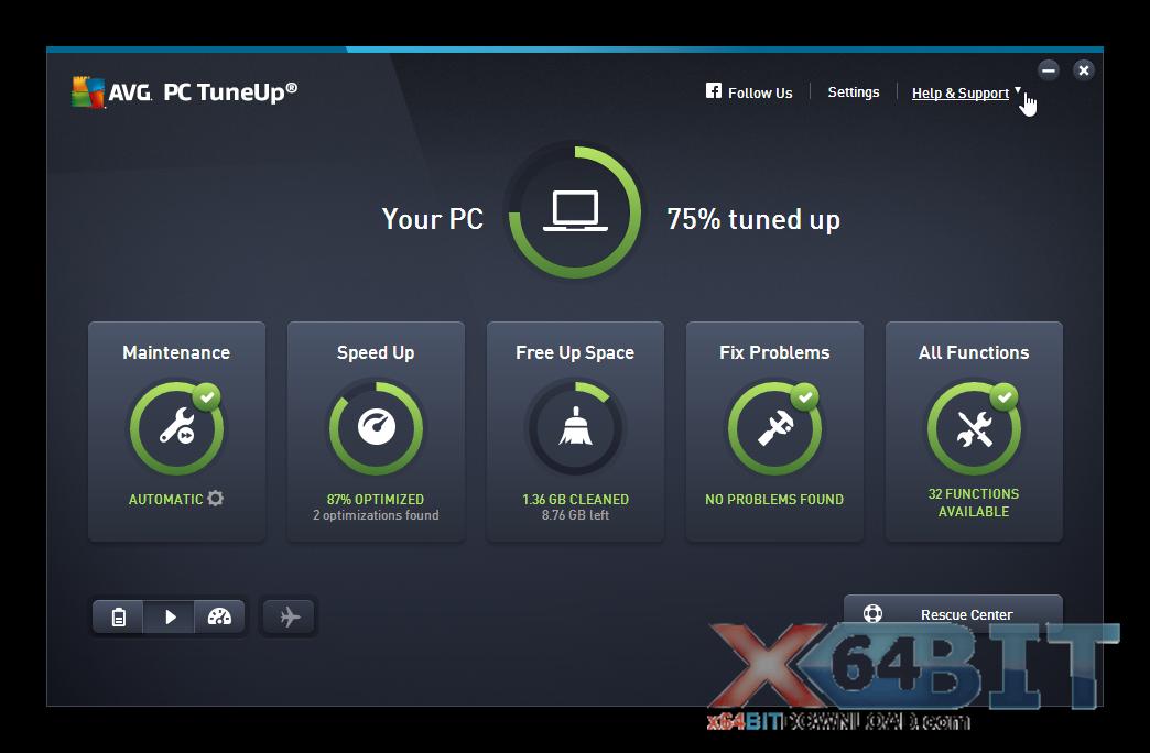 AVG-PC Tuneup screenshot