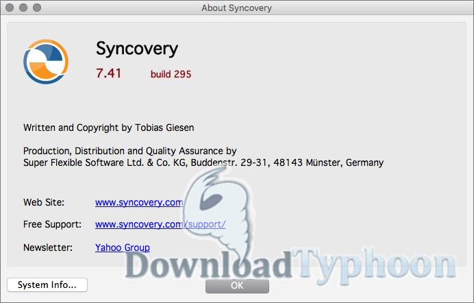 Syncovery for Mac full screenshot
