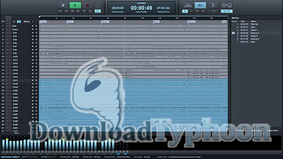 PreSonus Capture full screenshot