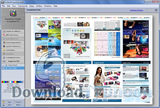 Imposition Studio for Mac full screenshot