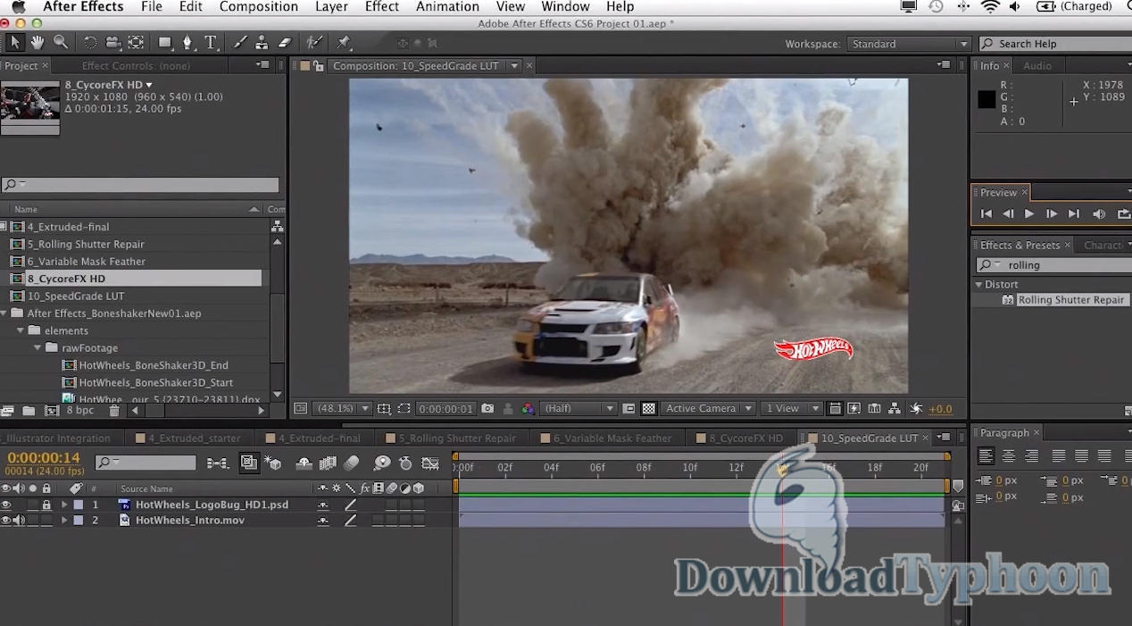 Adobe After Effects full screenshot